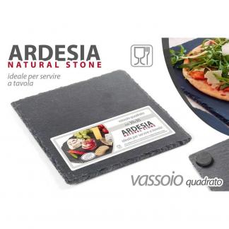749810 OSE/VASSOIO ARDESIA CM 30*30 30X30
